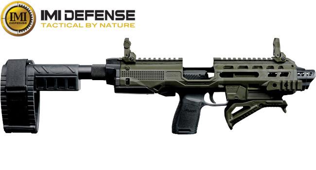 Карабинная платформа IMI Defense KIDON для конверсии пистолетов