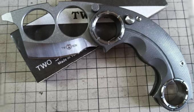 кастет TwoSun TS330-FAFO