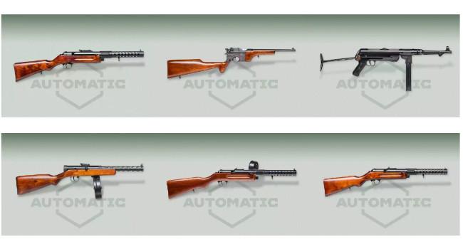 Реплики исторического оружия от Automatic Plus