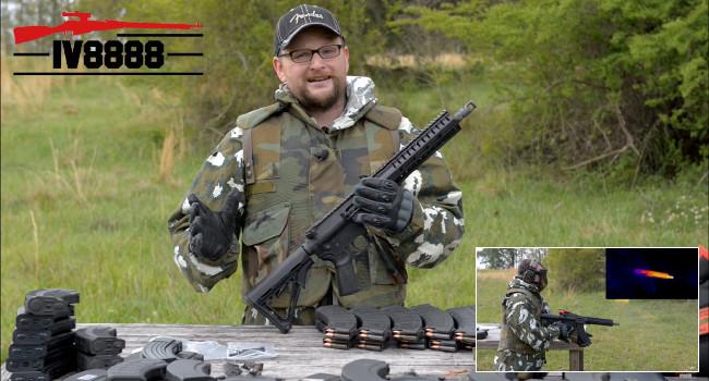 Плавка винтовки CMMG Mutant стрельбой