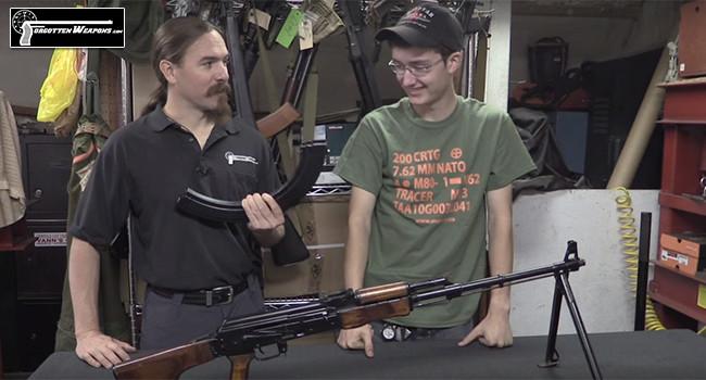 Тест магазина АК на 90 патронов