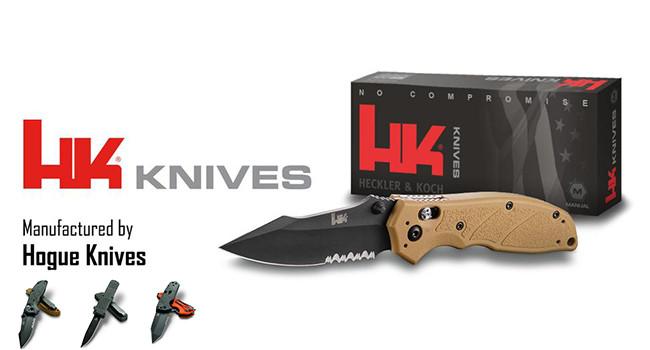 Новые ножи Heckler & Koch и Hogue