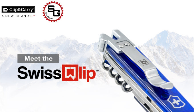 Клипса SwissQlip для ножей Victorinox