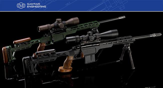 Высокоточные винтовки MPR Vanquish и Wraith