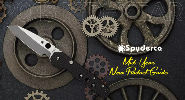 каталог Spyderco 2018 Mid-Year Product Guide