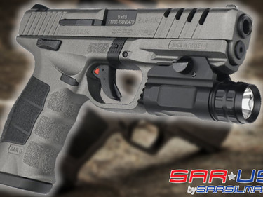 Пистолет Sarsilmaz SAR9X Platinum