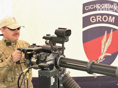 Закупка многоствольных пулеметов M134 Польскими военными