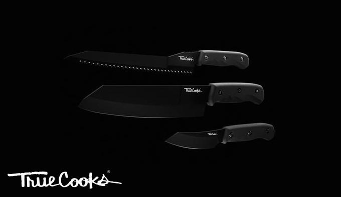 набор высококлассных кухонных ножей