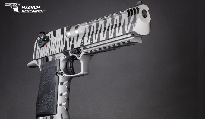 Пистолет Magnum Research White Tiger Desert Eagle