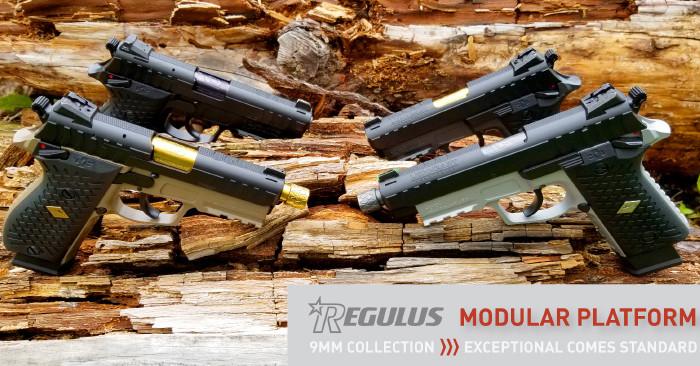 Пистолеты Lionheart Regulus Alpha