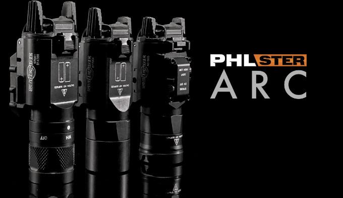 Клавиши PHLster ARC для фонарей Surefire X