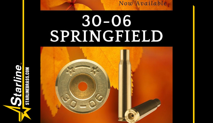 латунные гильзы для сборки патронов 30-06 Springfield