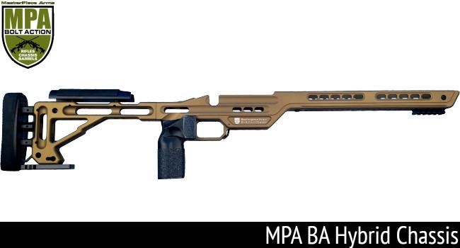 Винтовочная ложа-шасси MPA BA Hybrid