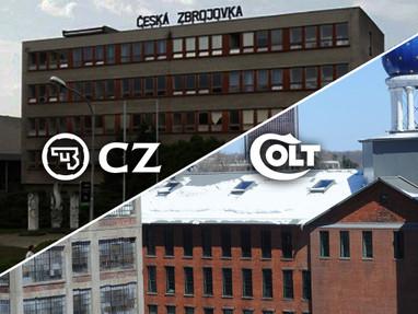 CZ планирует купить Colt