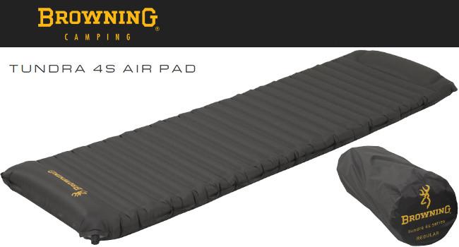 Надувной походный матрас Browning Tundra 4S Air Pad