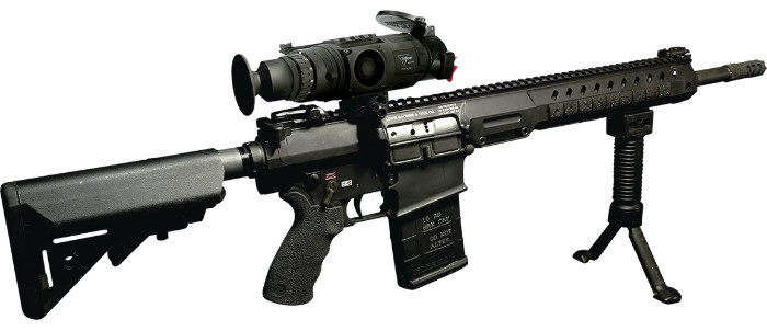 Trijicon REAP-IR на винтовке