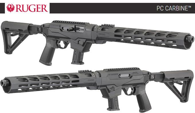 самозарядная полуавтоматическая винтовка в пистолетном калибре 9х19