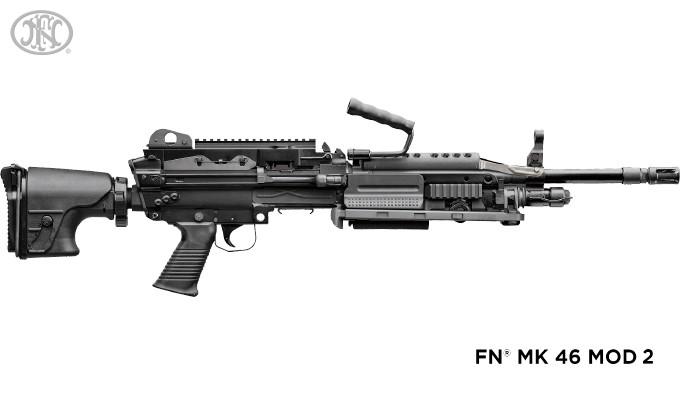Пулемет FN MK 48 Mod 2 в калибре 6.5 Creedmoor