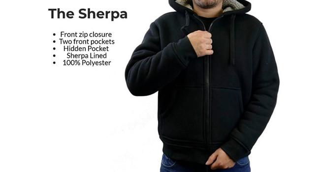 кофта худи The Sherpa