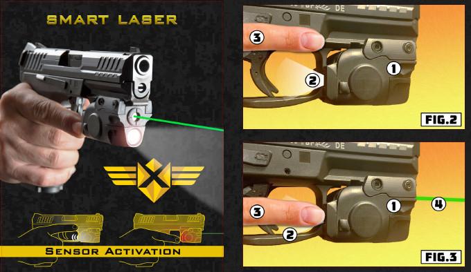 Комбинированное устройство подсветки XTech Tactical Smart Laser