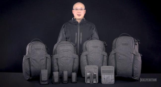 Тим Танг президент компании Maxpedition  с линейкой Entity