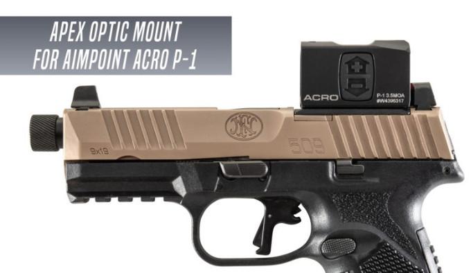 Крепление Apex Tactical AOM FN 509 под ACRO P-1