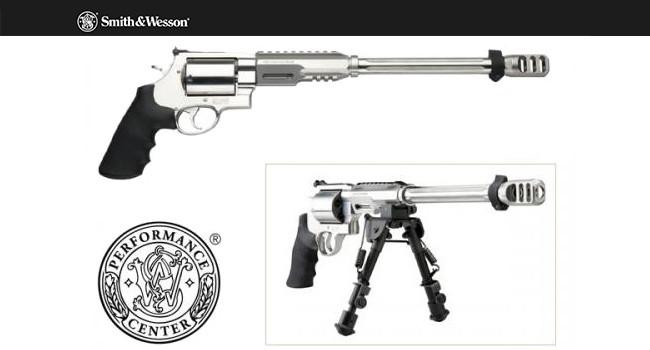 пистолет Smith & Wesson 460 XVR Performance Center