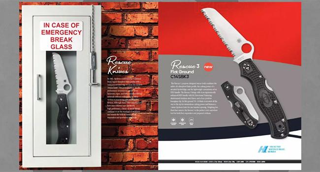 Нож Spyderco Rescue 3 FFG