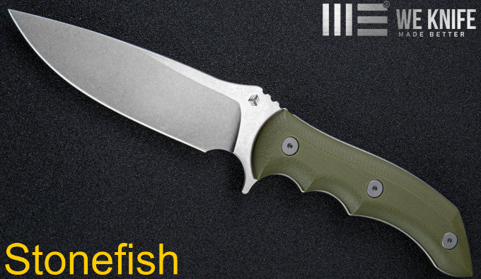 Нож We Knife Stonefish 919