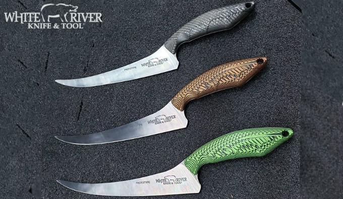 Филейный нож WRKT Step Up Fillet