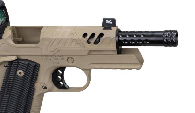 Пистолет EB/ZEV 2019 RMR FDE
