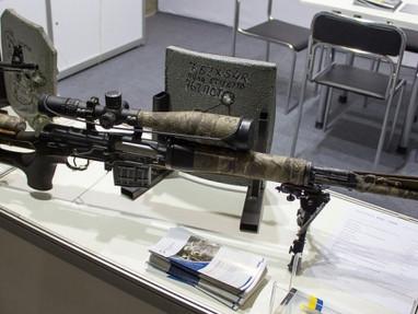 Новые украинские АК-47, СВД и ПКМ