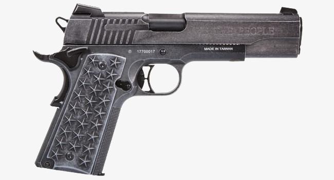 Пневматический пистолет SIG Sauer We The People 1911 вид справа