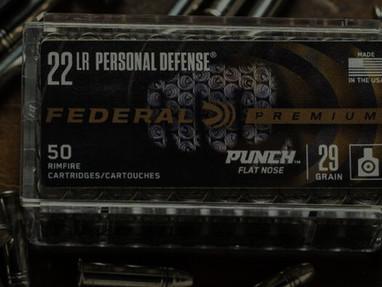 Патроны Federal Punch Rimfire 22 LR