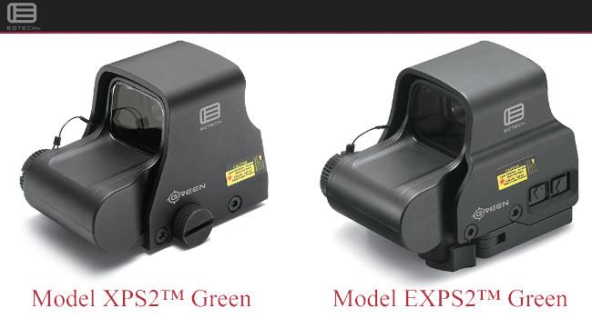 Голографические прицелы EOTech XPS2 и EXPS2