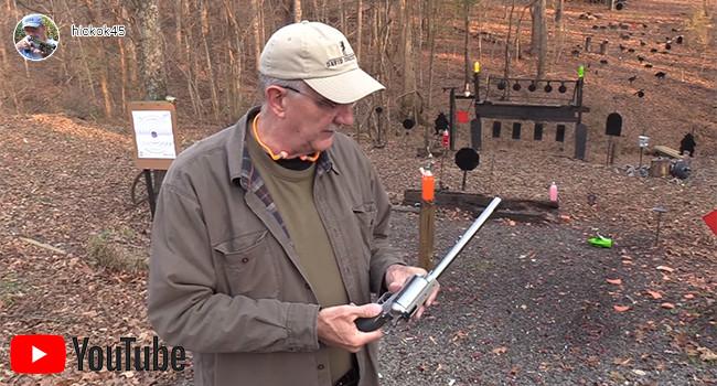 Видео-тест револьвера Magnum Research 45-70