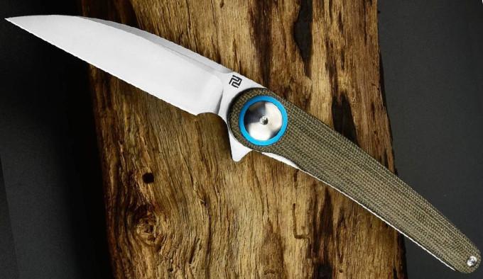 открытый нож Artisan Cutlery Cazador