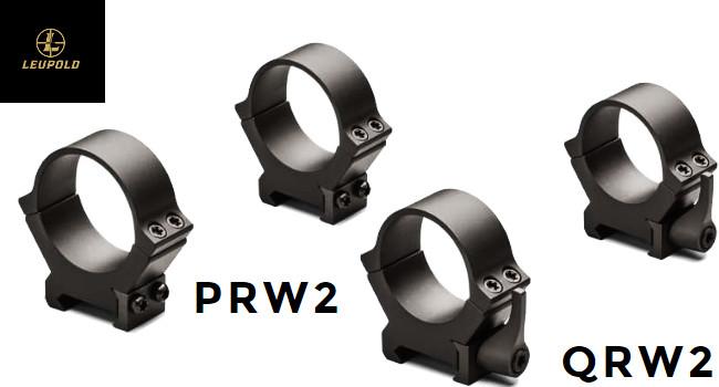 Крепежные кольца Leupold QRW2 и PRW2