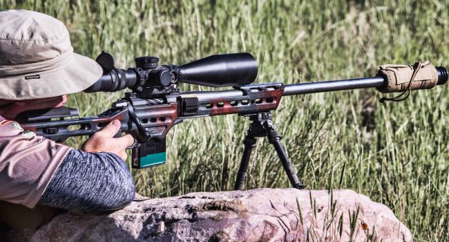 винтовка на основе шасси MPA BA Hybrid