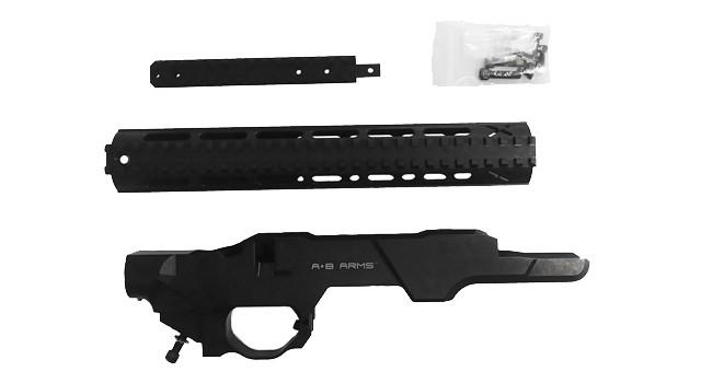 комплект ложи шасси AB Arms MOD X Gen III Lite