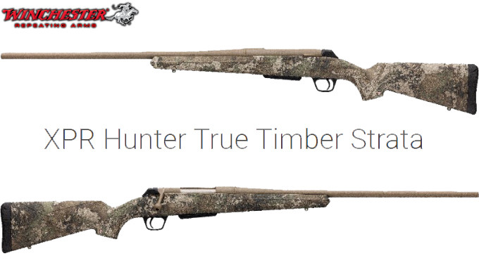 Винтовка Winchester XPR Hunter True Timber Strata