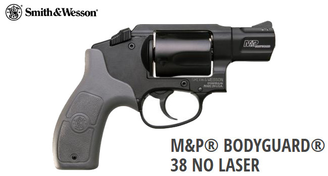 Револьвер Smith & Wesson M&P Bodyguard 38