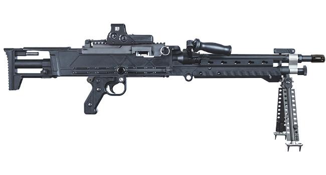 пулемет Barrett LWS 240 в калибре 6.5mm Creedmoor