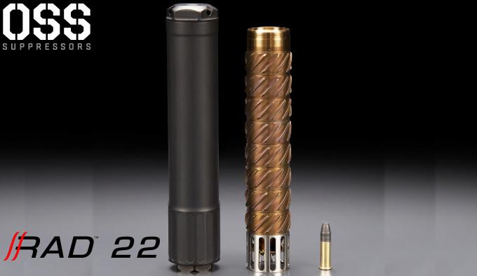 Глушитель OSS RAD 22