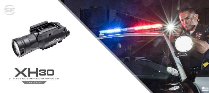Компактный оружейный фонарь SureFire XH30