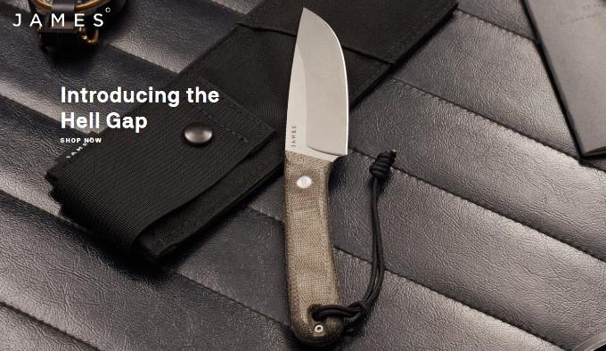 Нож James Brand Hell Gap