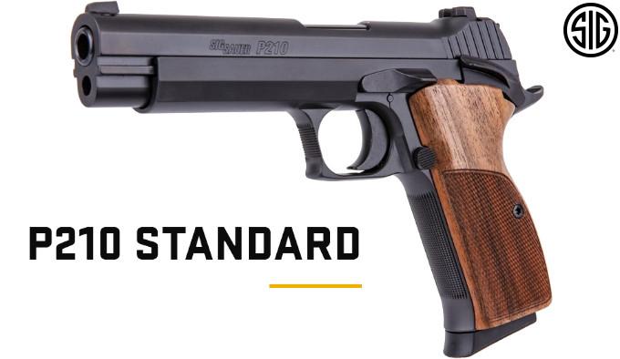 Пистолет SIG SAUER P210 Standard