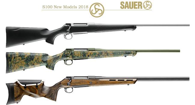 Новые винтовки Sauer S100