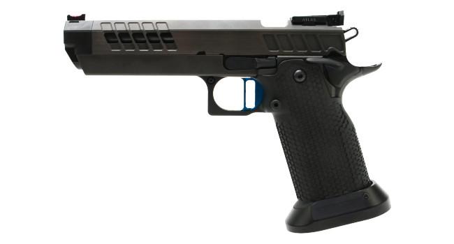 Пистолет Atlas Gunworks Nemesis слева