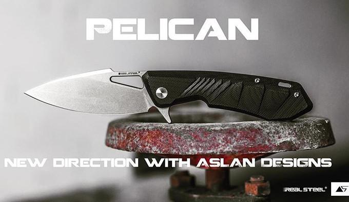 складной нож от Аслана Жанабаева